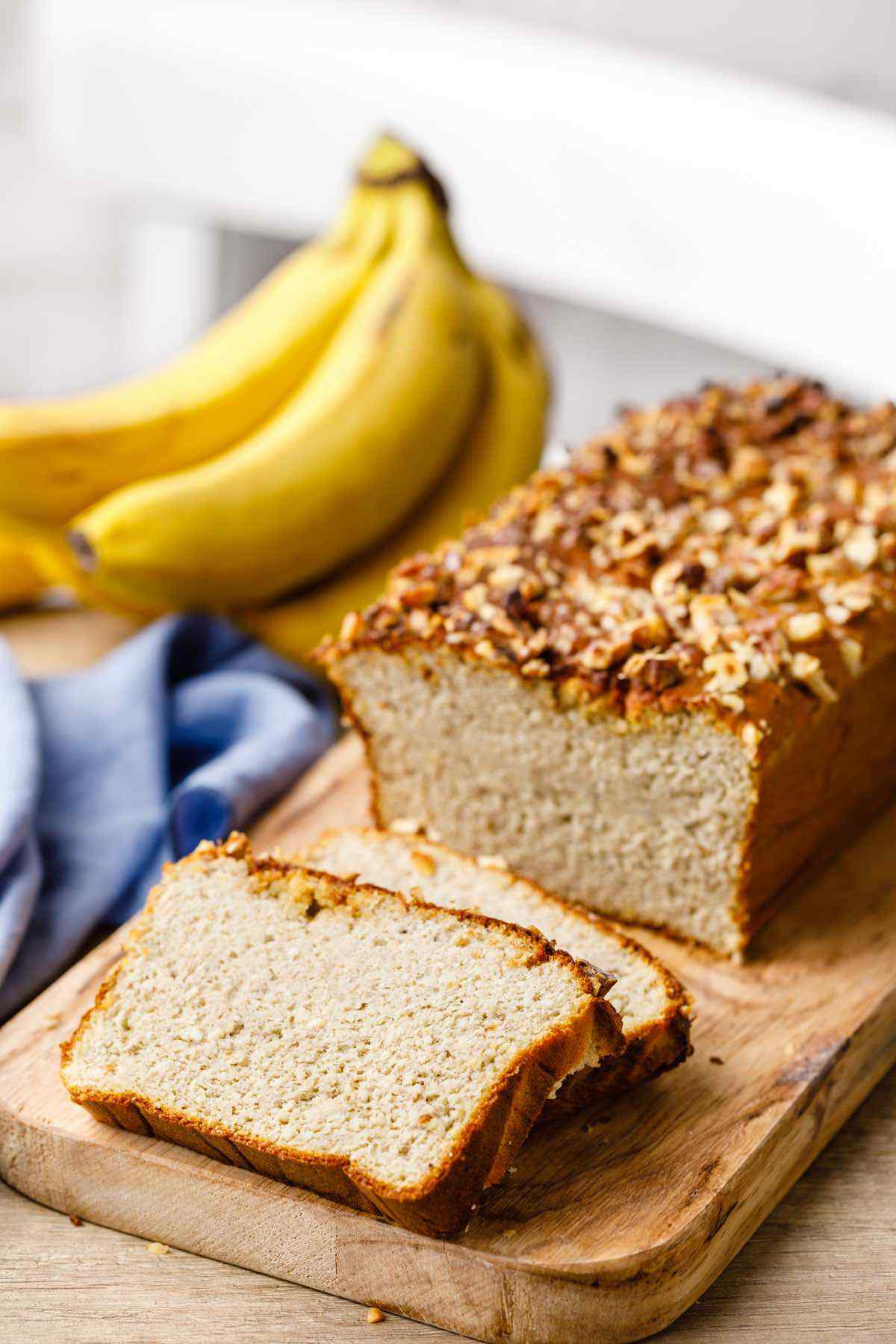 Keto Banana Bread Videos  The Best Keto Banana Nut Bread Ever My Kids Love This