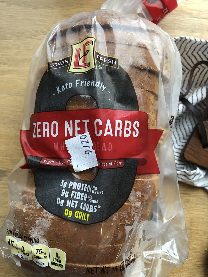 0 Carb Bread  Everyone is going crazy for Aldi Zero Net Carb Bread