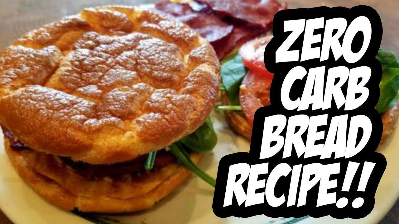 0 Carb Bread  Zero Carb Bread Recipe CLOUD BREAD