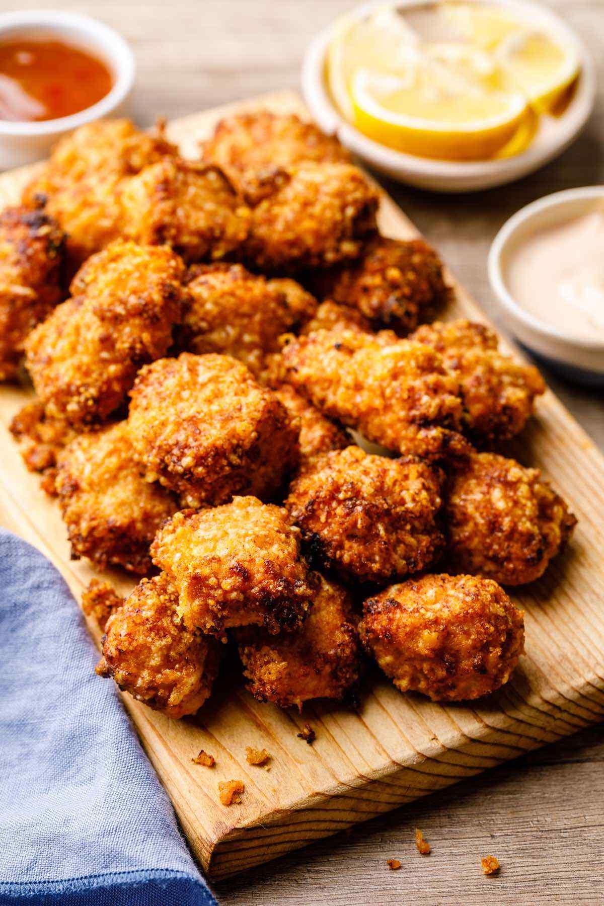 Air Fryer Keto Chicken Nuggets  6 Easy Air Fryer Keto Fried Chicken Recipes Tenders