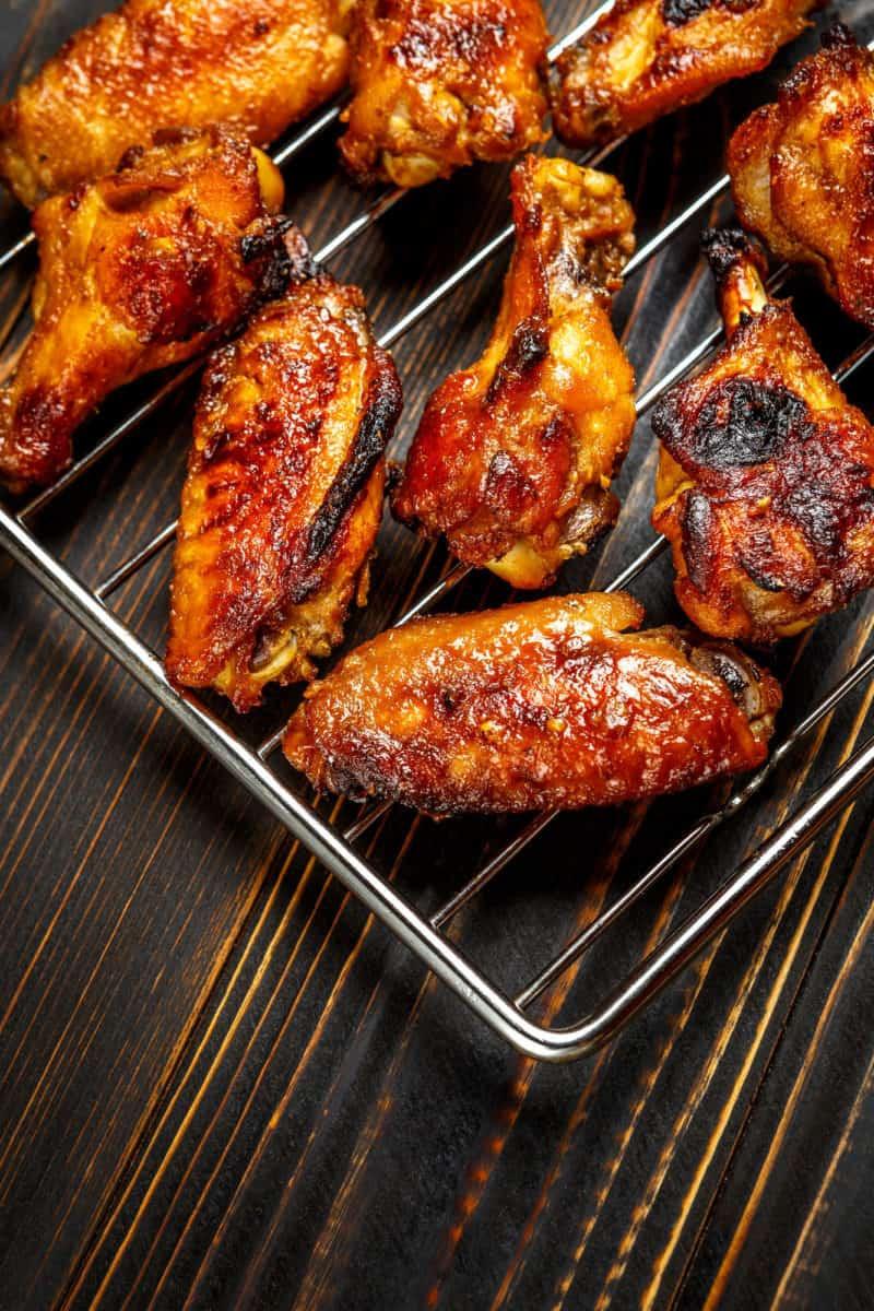 Air Fryer Keto Chicken Wings  Keto Buffalo Chicken Wings made in the Air Fryer