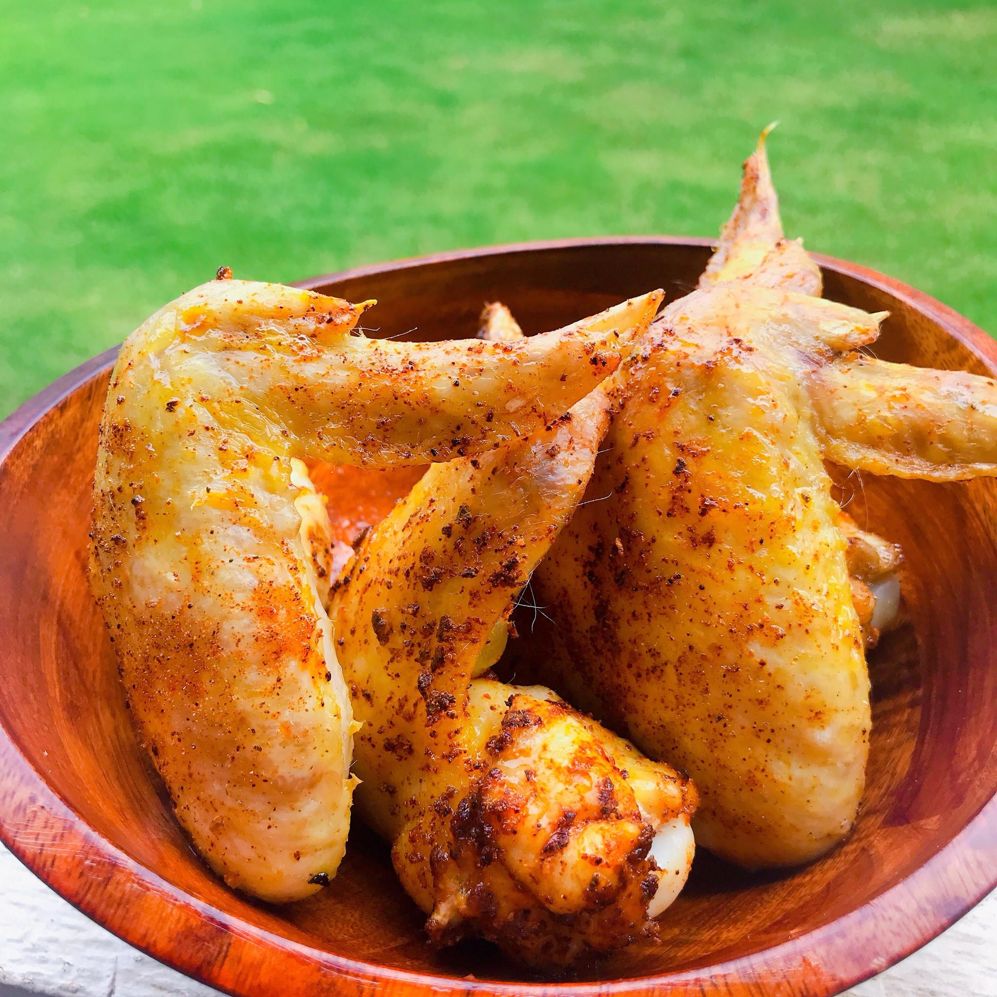 Air Fryer Keto Chicken Wings  Air Fryer Keto Chicken Wings Recipe