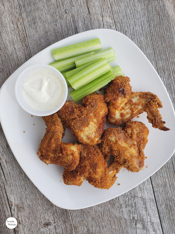 Air Fryer Keto Chicken Wings  Keto Air Fryer Chicken Wings Everyday Shortcuts