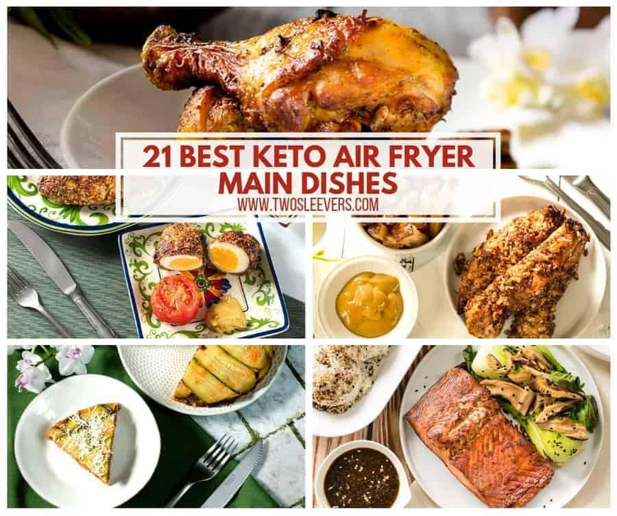 Air Fryer Keto Dinner  Keto Air Fryer Main Dishes