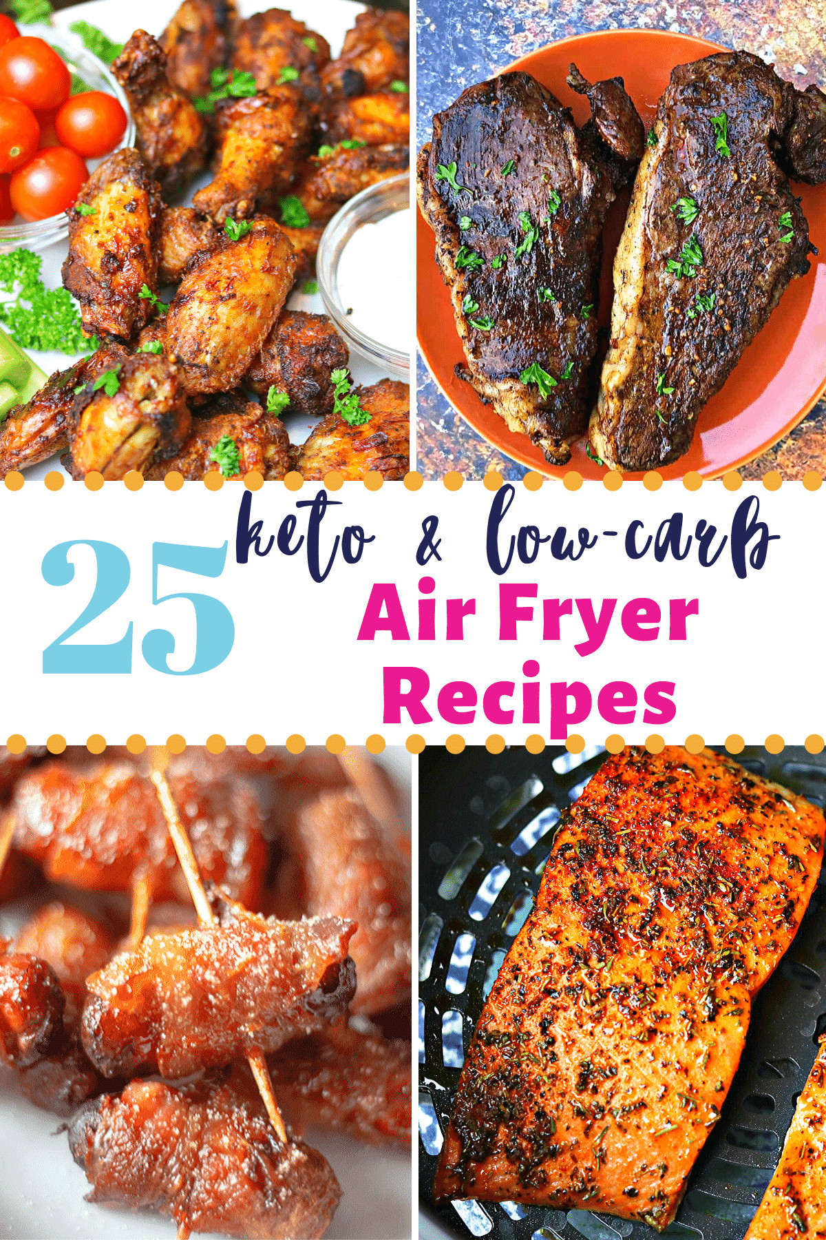 Air Fryer Keto Dinner  25 Easy Low carb & Keto Air Fryer Recipes for Every Meal