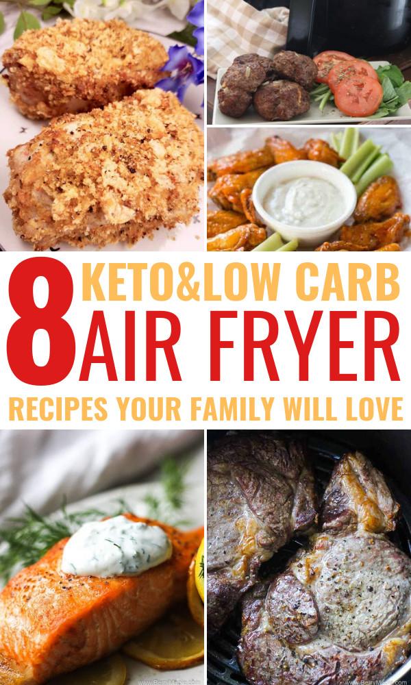 Air Fryer Keto Dinner  easy keto air fryer dinner OhClary
