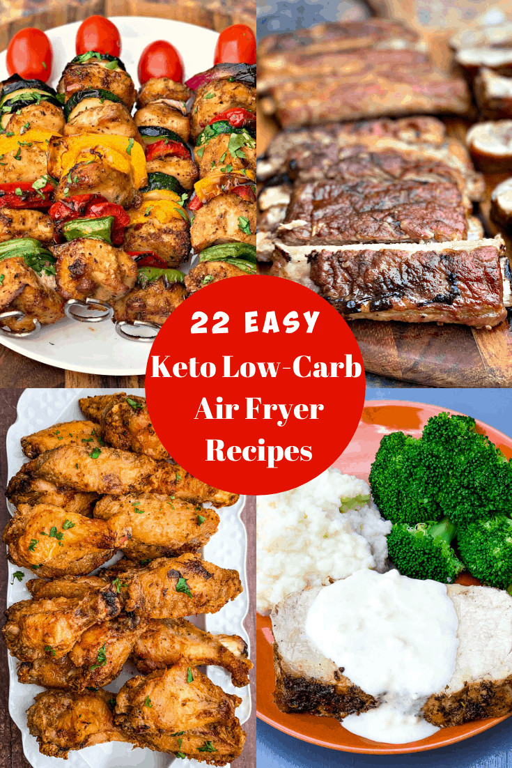 Air Fryer Keto Dinner  22 Quick and Easy Keto Low Carb Air Fryer Recipes