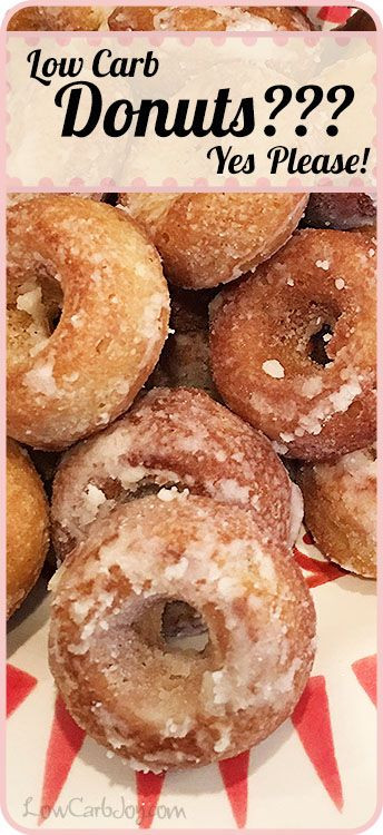 Air Fryer Keto Donut Recipes  Low Carb Donuts sounds like a fantasy recipe With less