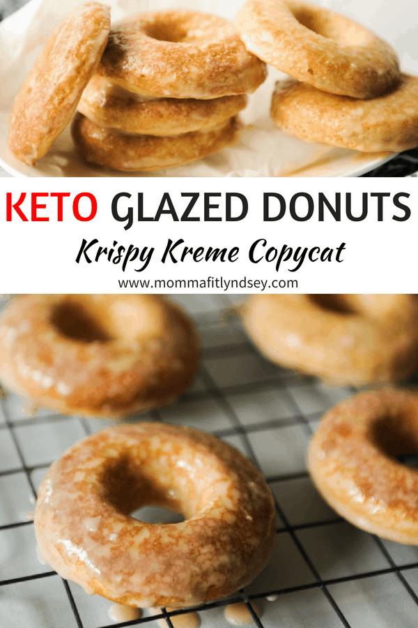 Air Fryer Keto Donut Recipes  Keto Donuts Recipe Krispy Kreme Copycat Momma Fit Lyndsey