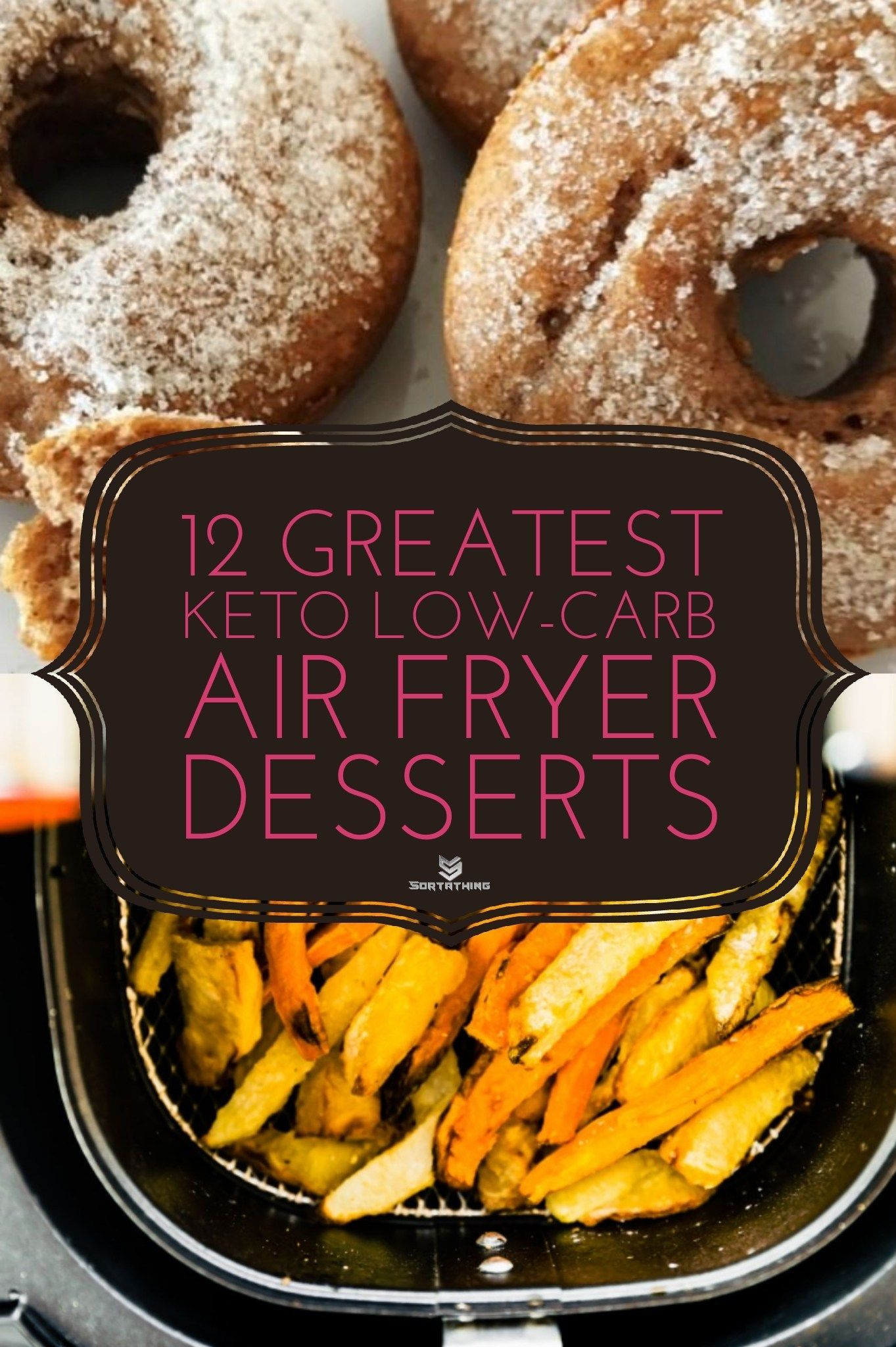 Air Fryer Keto Donut Recipes  12 Greatest Keto Low Carb Air Fryer Dessert Recipes in