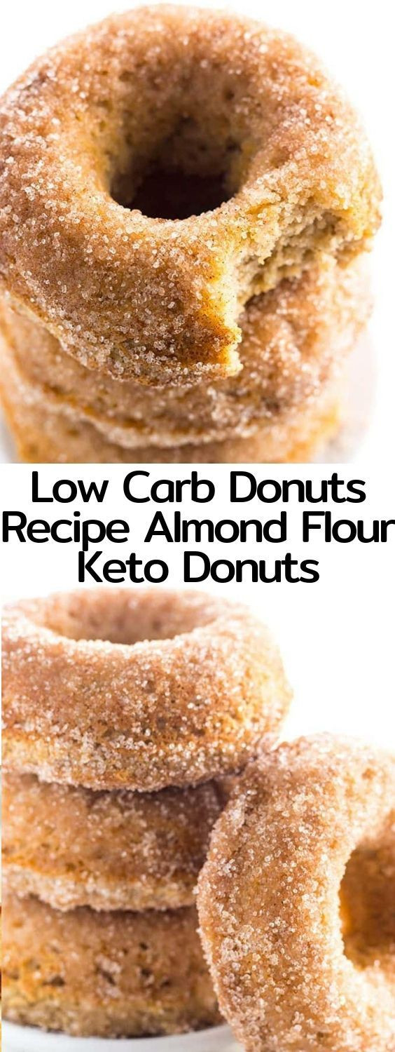 Air Fryer Keto Donut Recipes  This low carb donuts recipe with almond flour is easy to