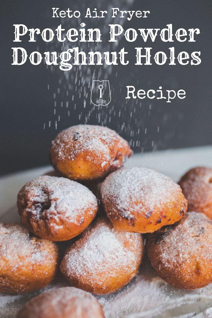 Air Fryer Keto Donut Recipes  Keto Air Fryer Protein Powder Doughnut Holes Recipe in