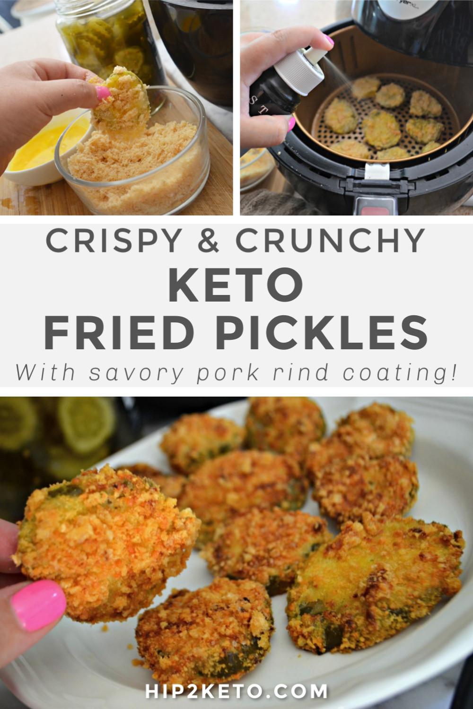 Air Fryer Keto Fried Pickles  Keto Fried Pickles in the Air Fryer