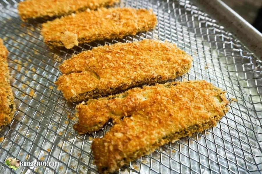 Air Fryer Keto Fried Pickles  Keto Fried Pickles