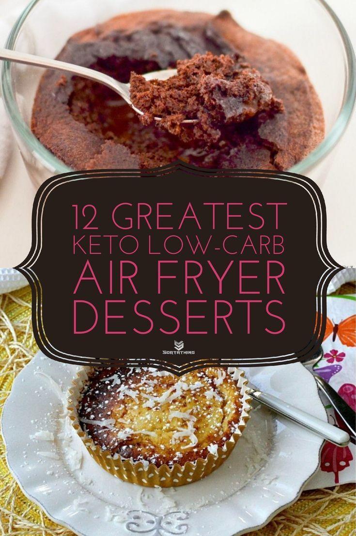 Air Fryer Keto Recipes Dessert  12 Keto Air Fryer Dessert Recipes Best Low Carb Desserts