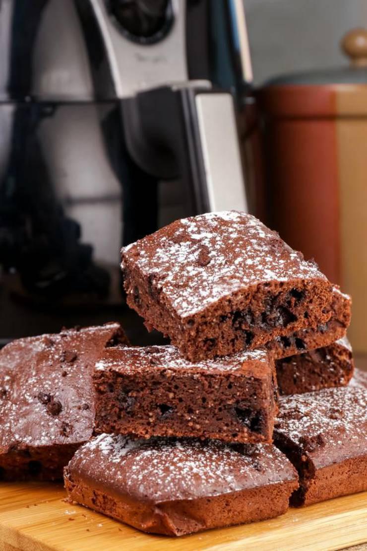 Air Fryer Keto Recipes Dessert  BEST Keto Brownies Low Carb Air Fryer Brownie Idea