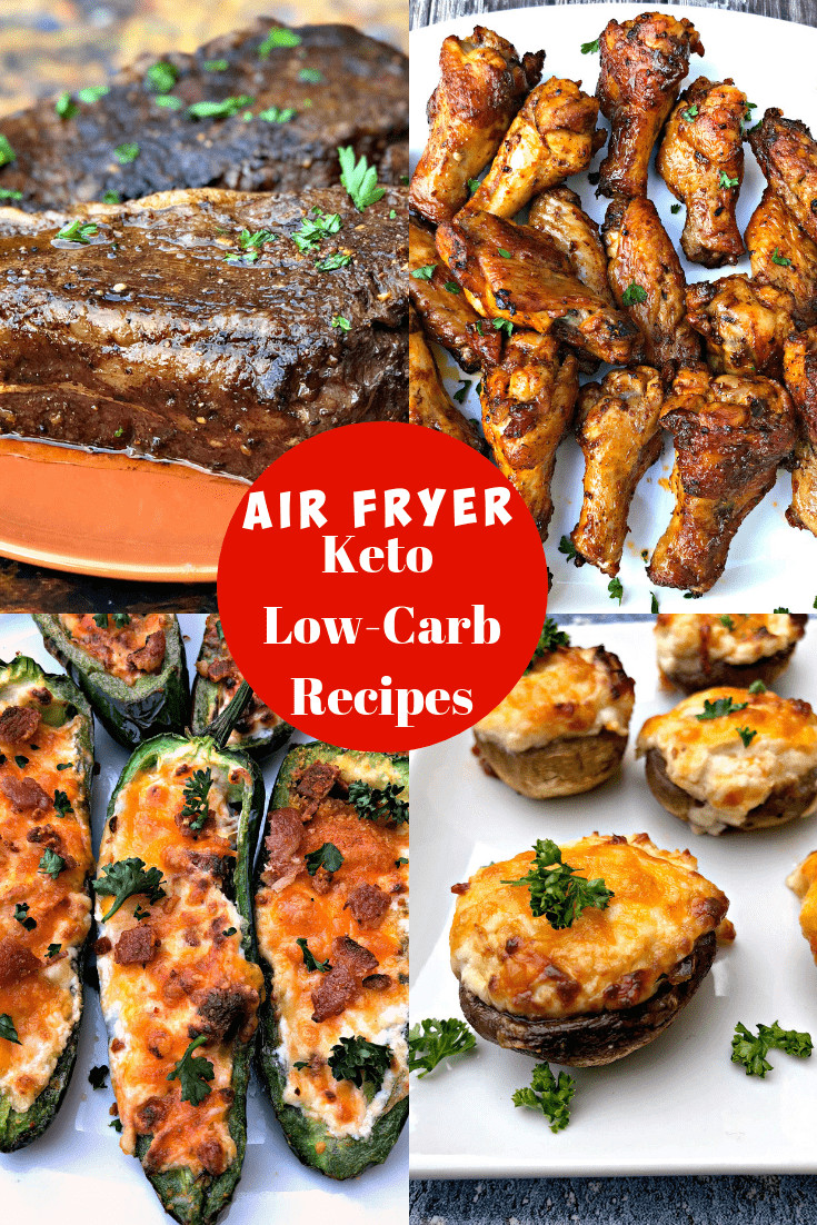Air Fryer Keto Snacks  5 Quick and Easy Keto Low Carb Air Fryer Recipes for Dinner