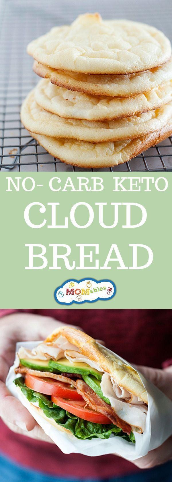 Atkins Cloud Bread  The 25 best No carb cloud bread ideas on Pinterest