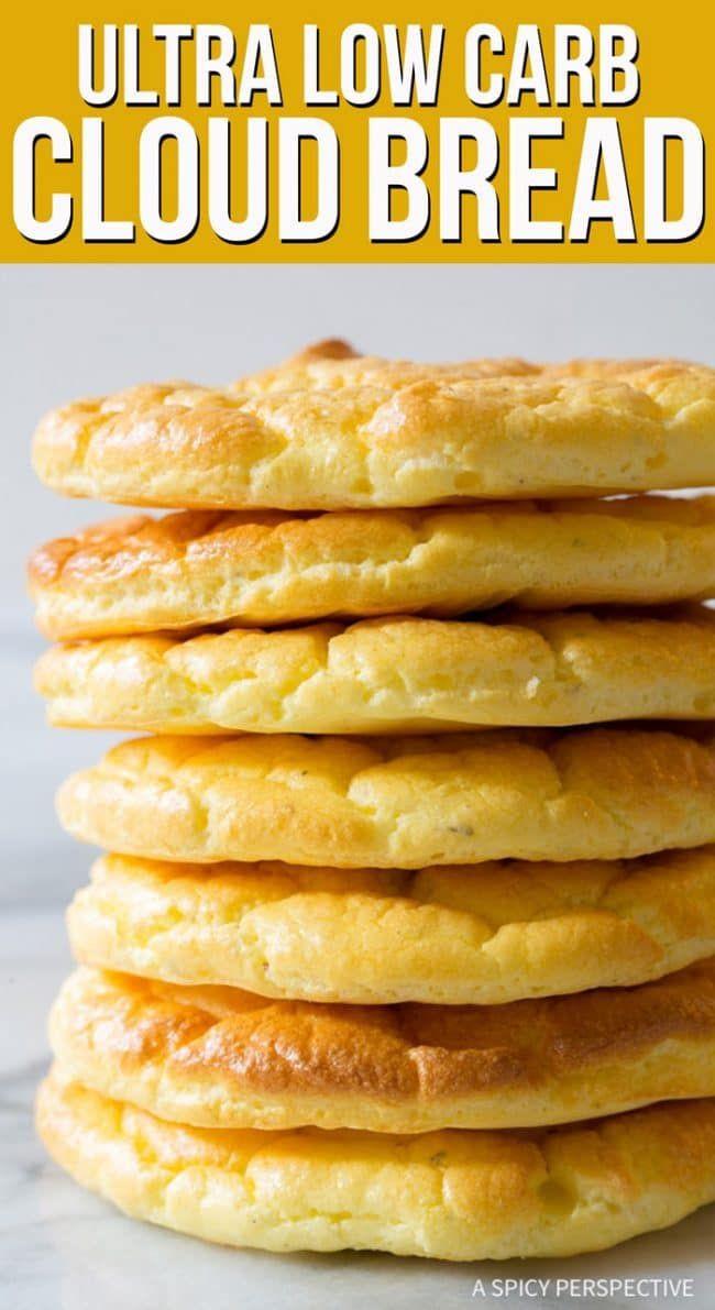 Atkins Cloud Bread  The Best Cloud Bread Recipe