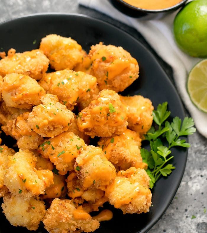Bang Bang Cauliflower Keto  Keto Low Carb Bang Bang Cauliflower Kirbie s Cravings