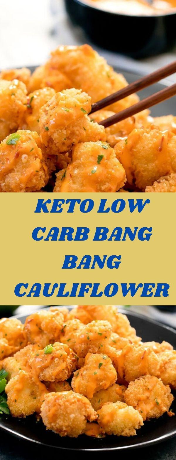 Bang Bang Cauliflower Keto  KETO LOW CARB BANG BANG CAULIFLOWER