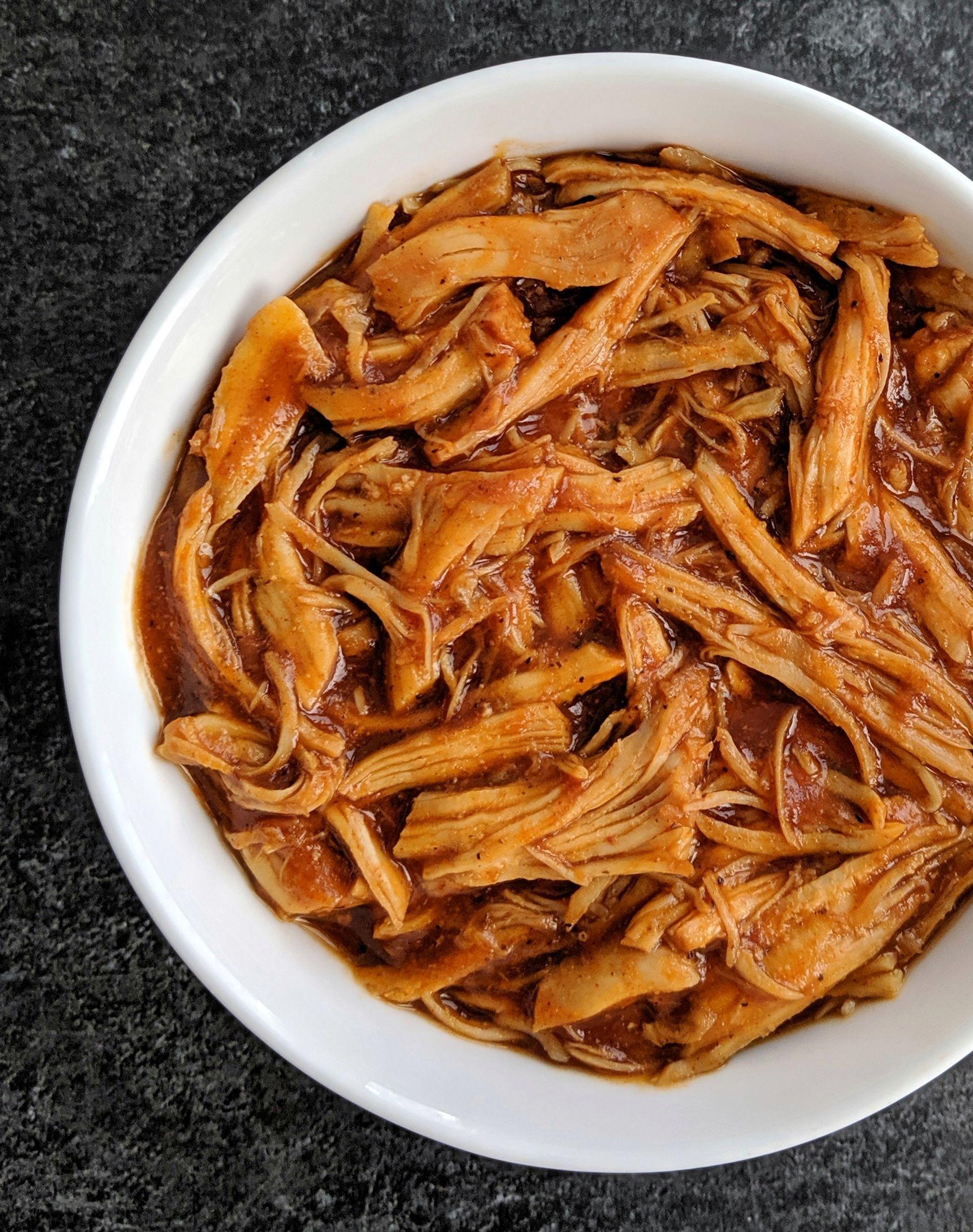 Bbq Chicken Crockpot Keto  Keto Shredded BBQ Chicken Recipe in 2020