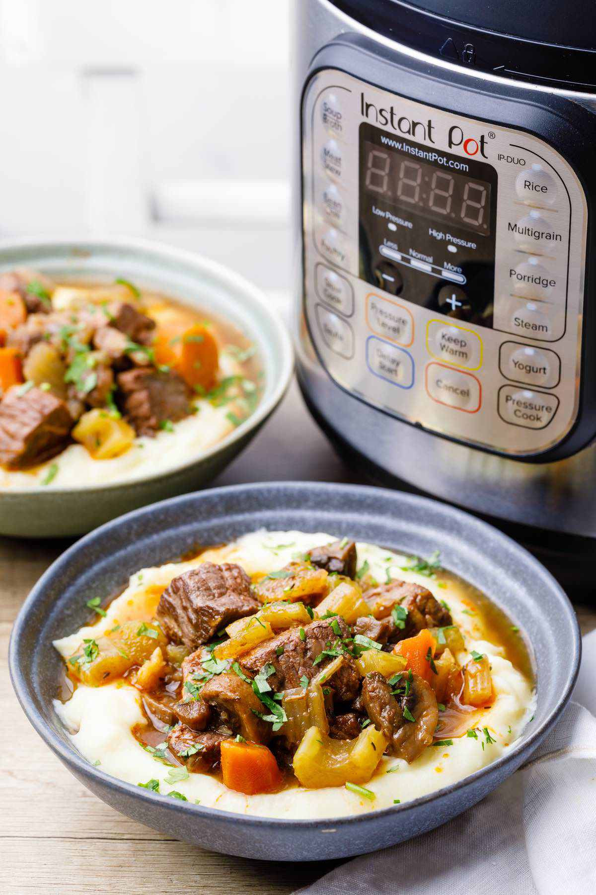 Beef Stew Meat Recipes Instant Pot Keto  The Best No Hassle Keto Instant Pot Beef Stew Keto Pots