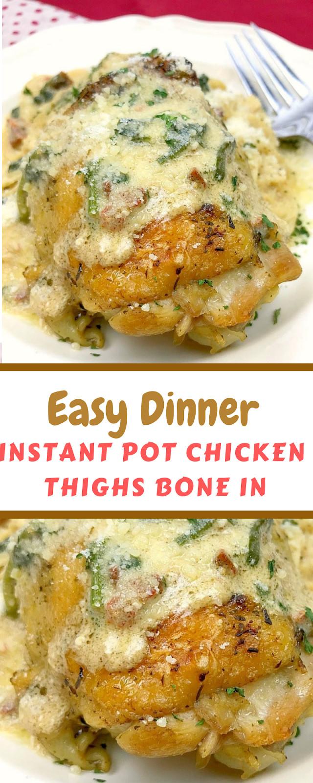 Bone In Chicken Thighs Instant Pot Keto  INSTANT POT CHICKEN THIGHS BONE IN