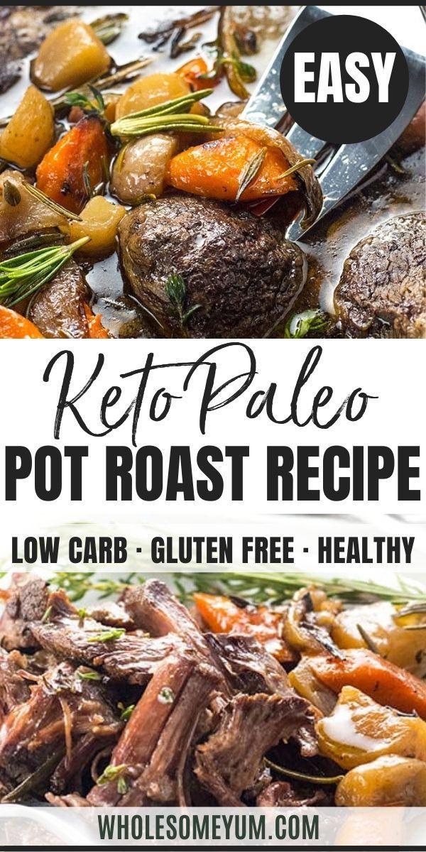Bottom Round Roast Slow Cooker Keto  Keto Low Carb Pot Roast Slow Cooker Recipe Keto Low Carb
