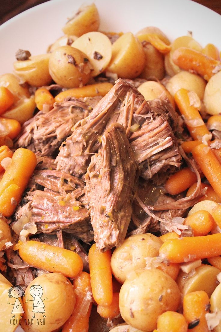 Bottom Round Roast Slow Cooker Keto  Pot Roast Recipe