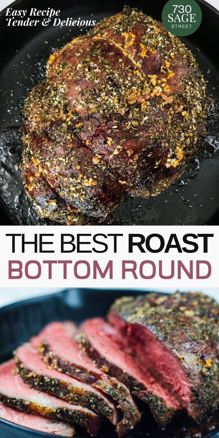 Bottom Round Roast Slow Cooker Keto  Pin on Low Carb & Keto Recipes