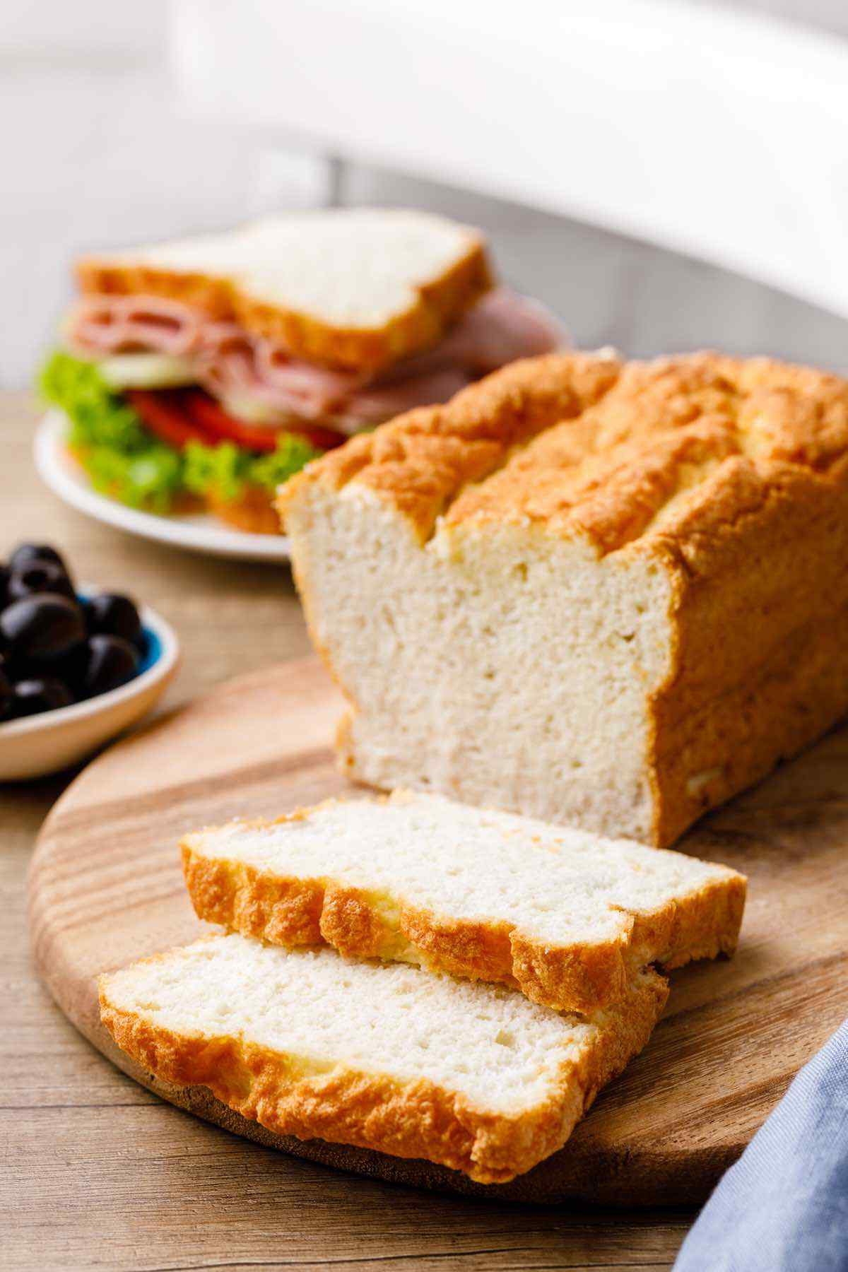 Bread Substitute For Low Carb Diet  Chewy Paleo Sandwich Bread Best Easy Paleo Bread Recipe