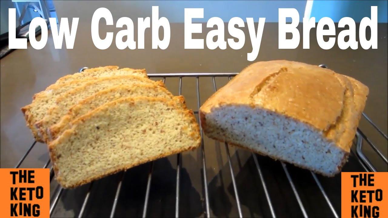 Bread Substitute For Low Carb Diet  Low Carb Easy Bread Keto Bread