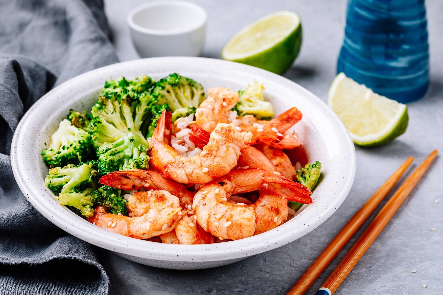 Broccoli Shrimp Keto  Keto Shrimp and Broccoli Bowl