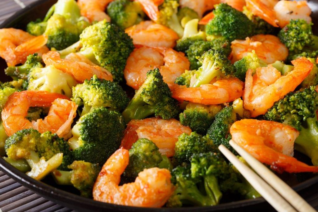 Broccoli Shrimp Keto  Shrimp Bamboo Shoot and Broccoli Stir Fry Ketogenic Diet