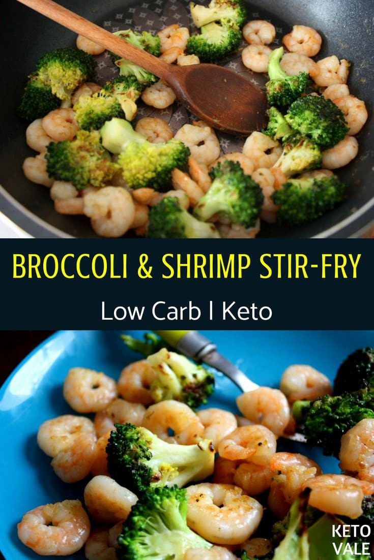Broccoli Shrimp Keto  Keto Sauteed Shrimp and Broccoli in Butter Low Carb Stir