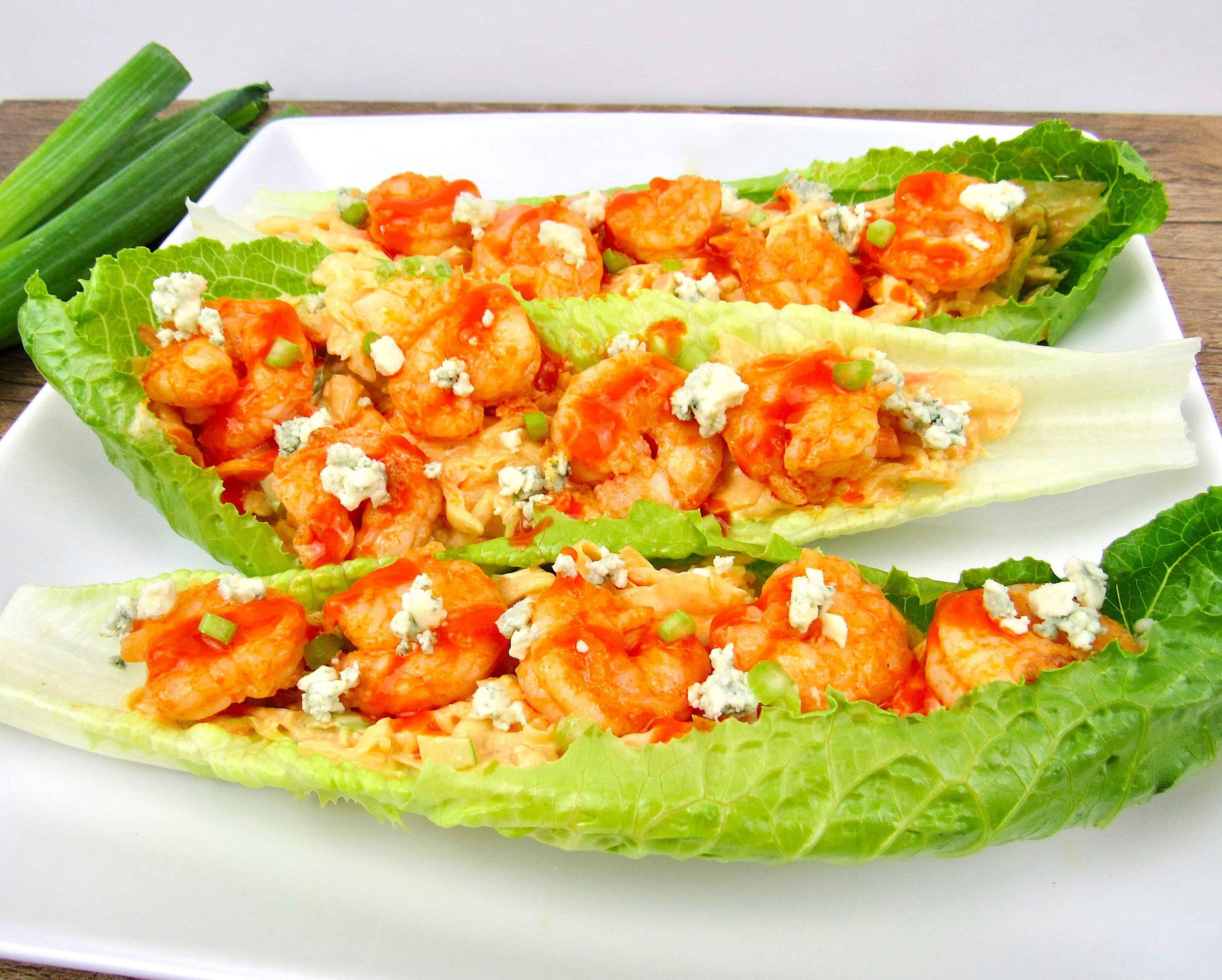 Buffalo Shrimp Keto  Easy Buffalo Shrimp Lettuce Wraps Keto Low Carb Keto