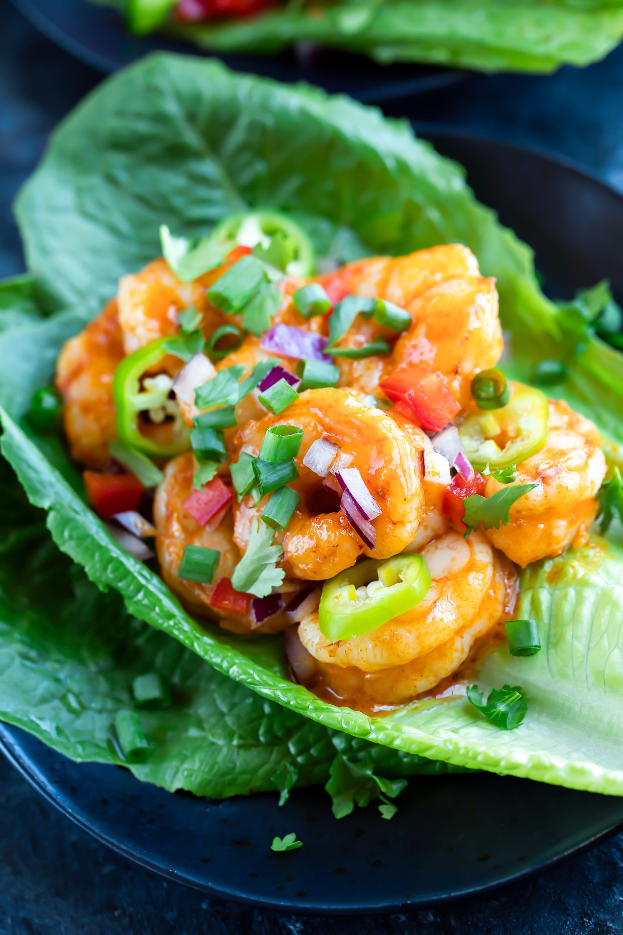 Buffalo Shrimp Keto  Buffalo Shrimp Lettuce Wrap Tacos Peas And Crayons