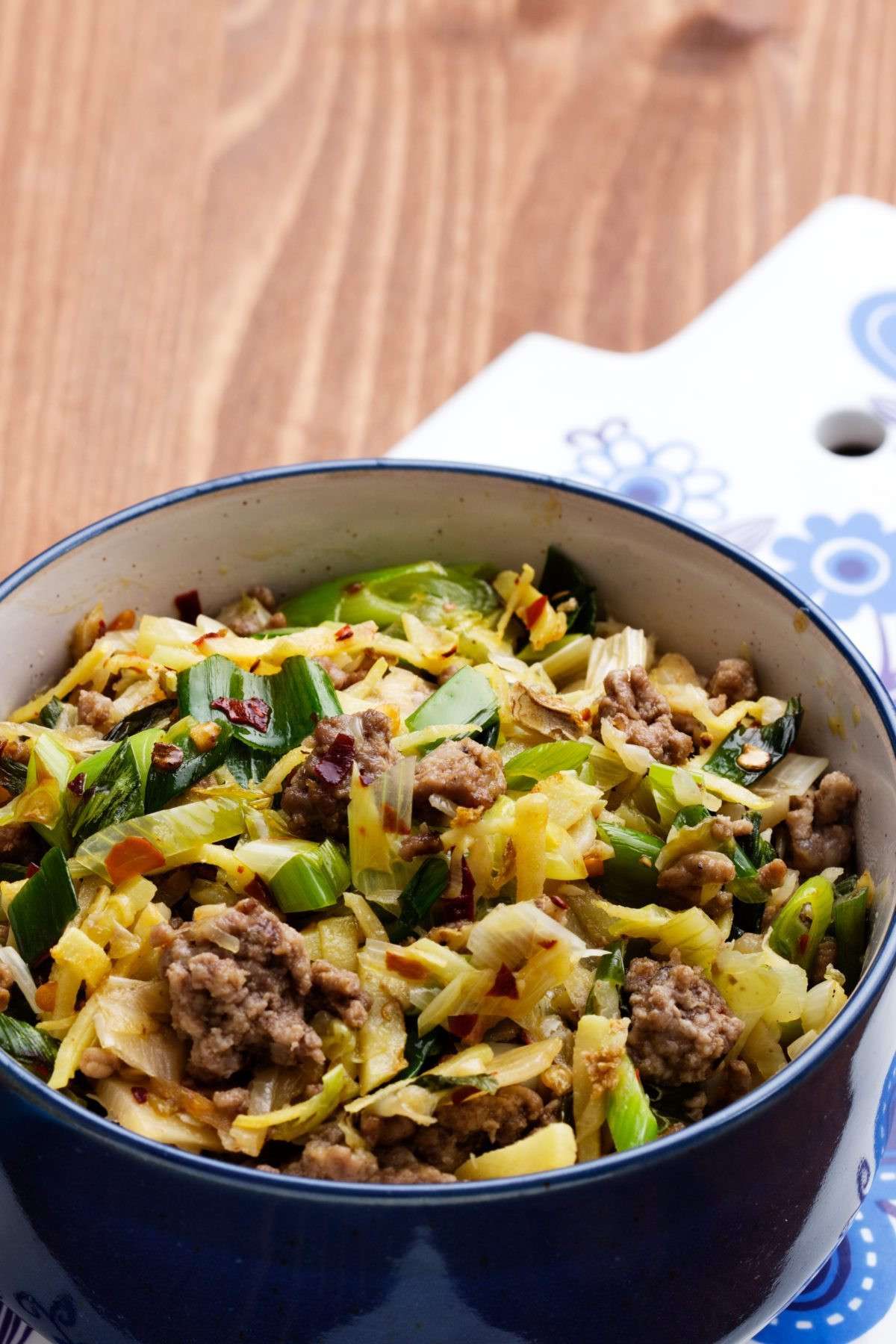 Cabbage And Beef Keto  Keto Asian cabbage stir fry Diet Doctor