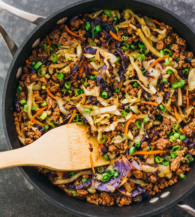 Cabbage Ground Beef Keto  Ground Beef and Cabbage Stir Fry Savory Tooth