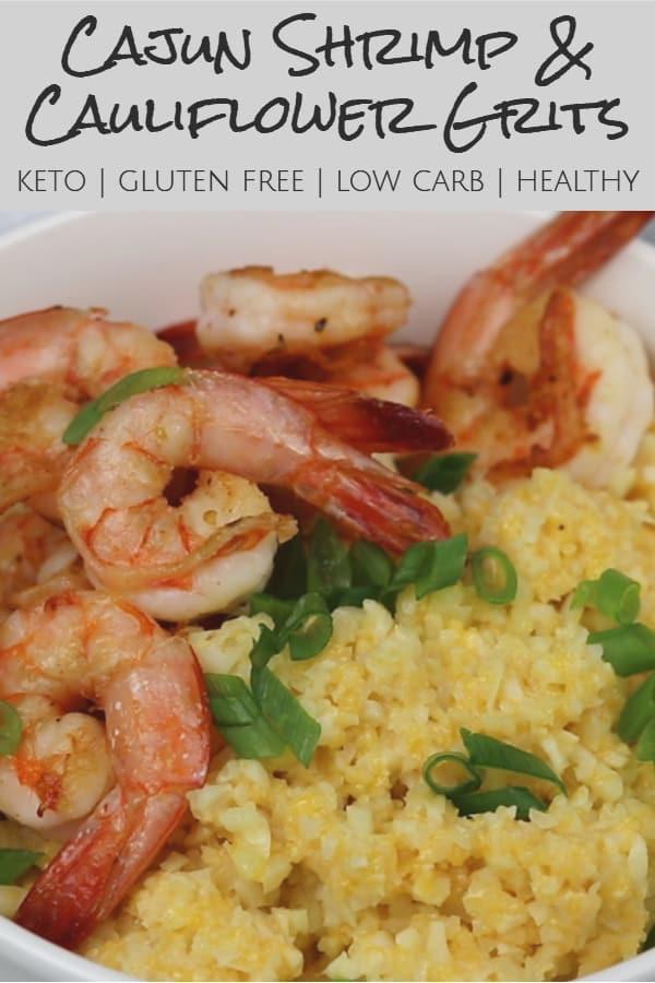 Cajun Shrimp Keto  Keto Cajun Shrimp and Cauliflower Grits