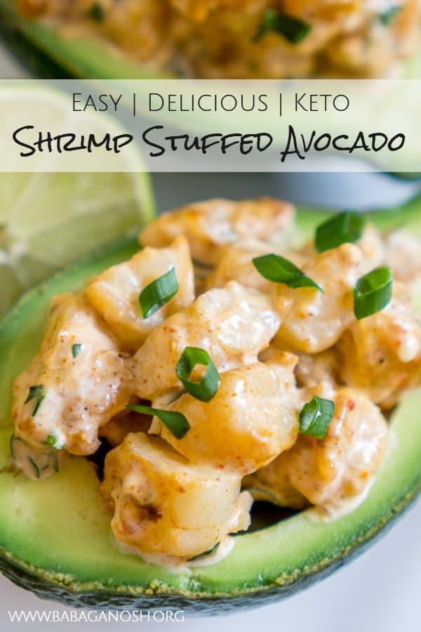 Cajun Shrimp Keto  Keto Cajun Shrimp Stuffed Avocado Recipe