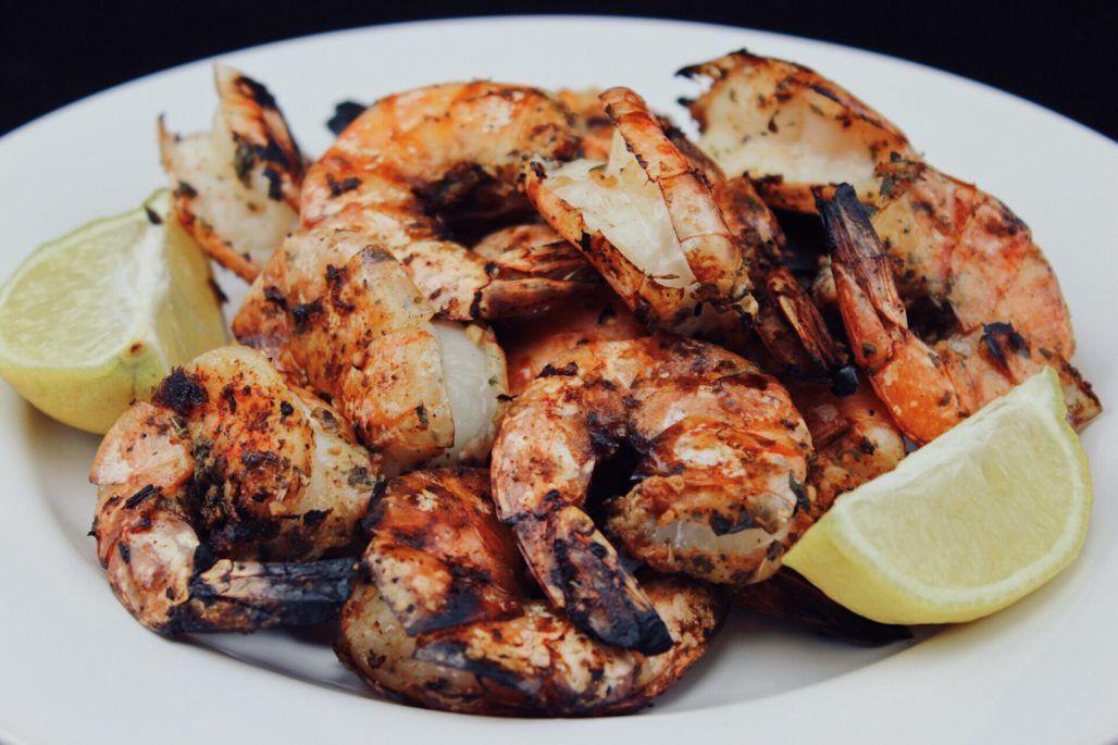 Cajun Shrimp Keto  Such an easy barbecued Keto creole Cajun shrimp recipe