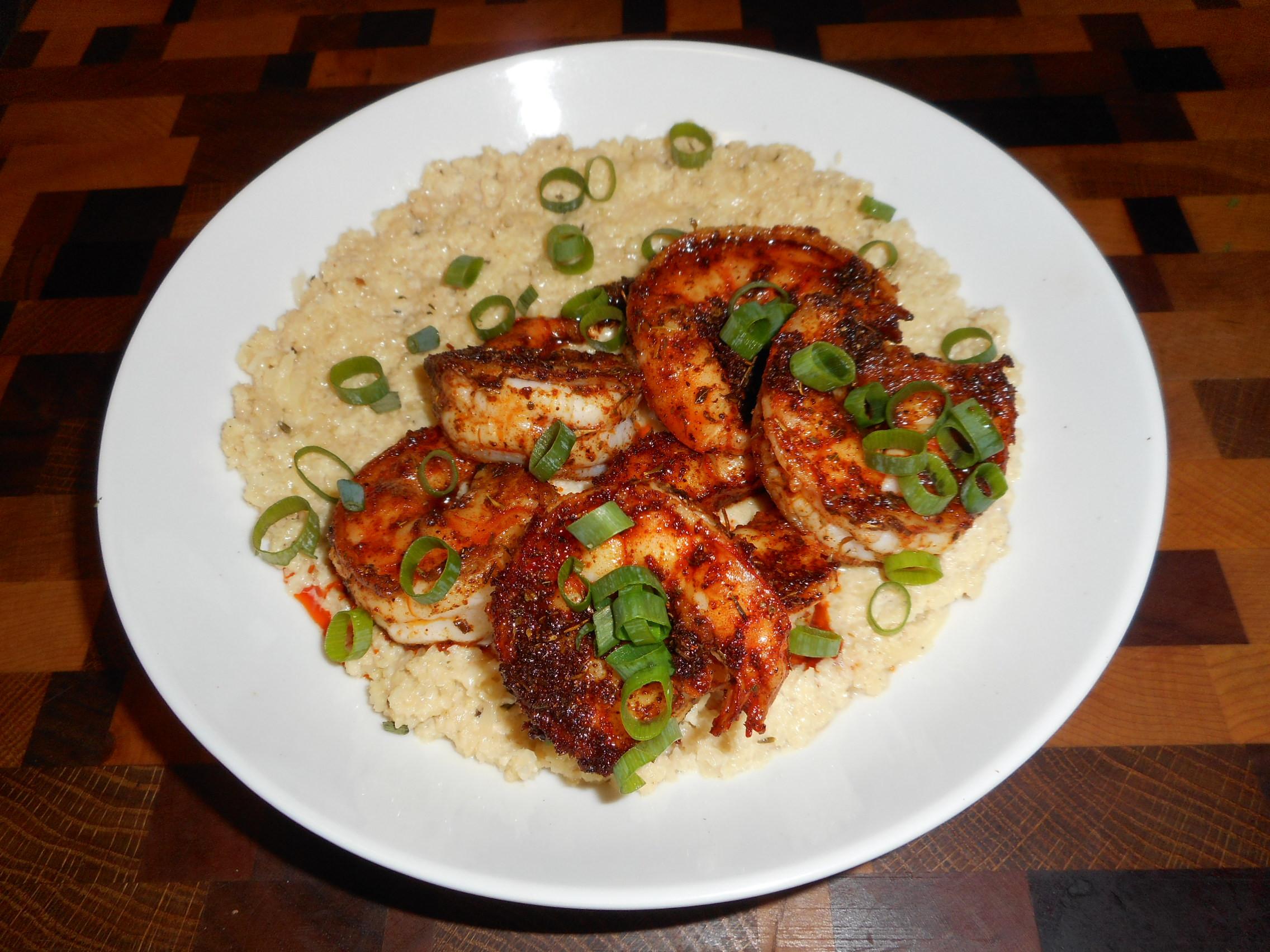 Cajun Shrimp Keto  Keto Cajun Shrimp & Grits LowCarb Diabetic Chef s Recipe