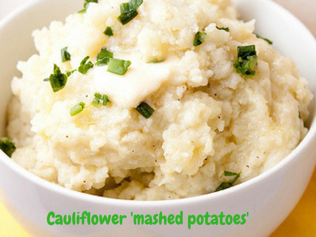 Cauliflower Keto Mashed Potatoes  Low Carb Cauliflower Mashed Potatoes – Ketogenic VIP