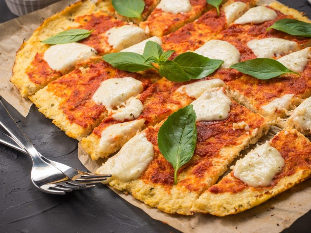 Cauliflower Keto Pizza  Cauliflower Pizza Ketogenic Diet Resource