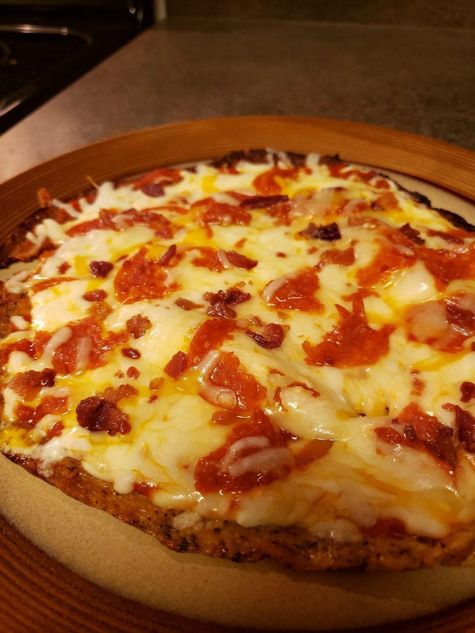 Cauliflower Keto Pizza  Quick and Easy Keto Pizza with Cauliflower crust – Keto Plates