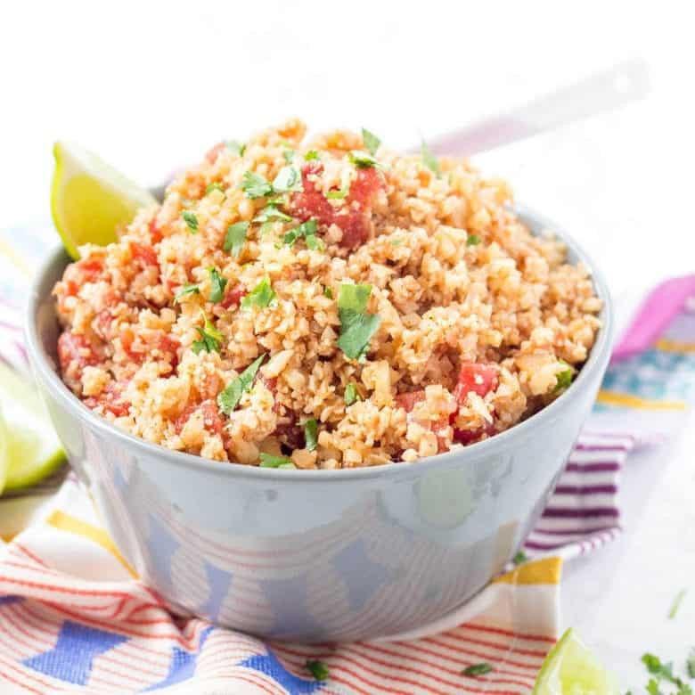 Cauliflower Keto Recipes Easy  Easy Keto Mexican Cauliflower Rice Skillet Recipe