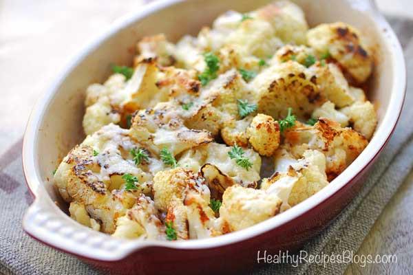 Cauliflower Keto Recipes Videos  Roasted Cauliflower Easy Keto Recipe