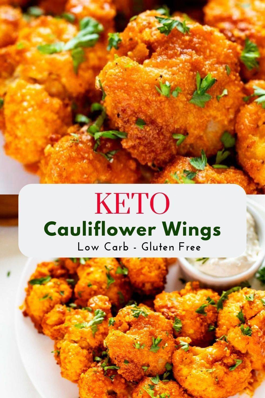Cauliflower Keto Wings  Keto Cauliflower Wings Recipe in 2020